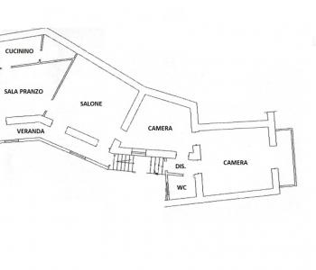 Appartamento 100mq in zona centrale